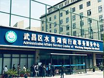 武昌区水果湖街行政事务服务中心采用德生人脸测温设备