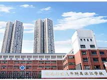 湖南师大附属滨江学校启用德生人脸识别测温门禁一体机